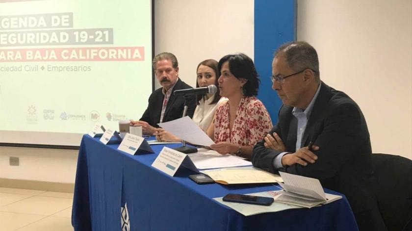 La presidenta de México Evalúa, Edna Jaime, estuvo en Tijuana para presentar programa.