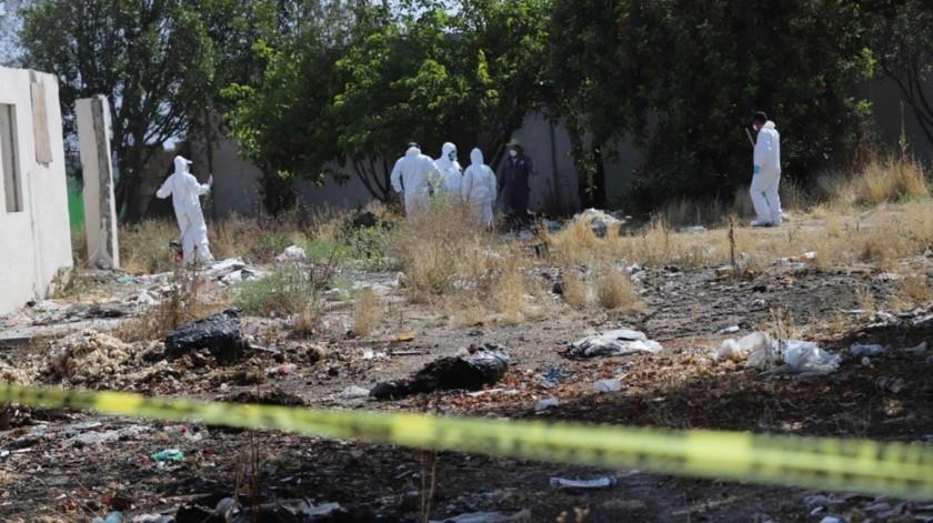 Las autoridades han realizado hallazgos de varios cuerpos en Las Delicias.