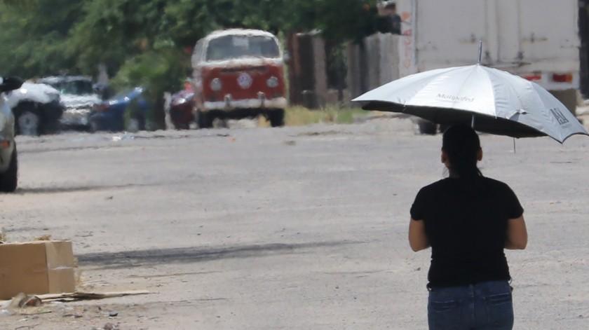 Se han registrado altas temperaturas en Hermosillo.