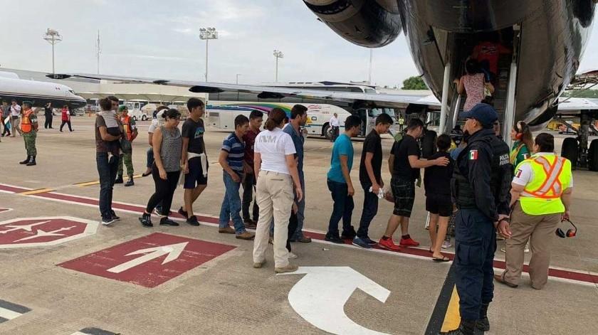 En total fueron 150 personas las que retornaron.(Cortesía)