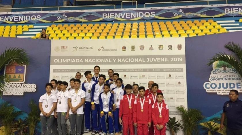 La gimnasia artística le dio un bronce a Sonora.(Cortesía)
