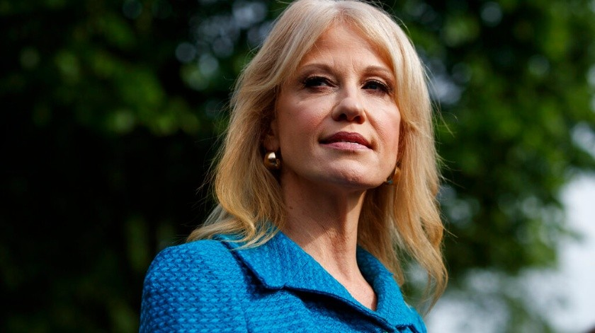 Una agencia federal de monitoreo recomendó el despido de la asesora de la Casa Blanca Kellyanne Conway.(AP)