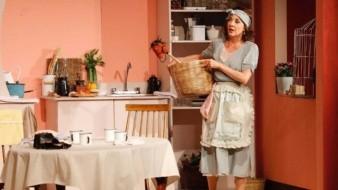"""Con la obra de teatro """"Un día particular"""", actuó al lado de Luis Felipe Tovar."""