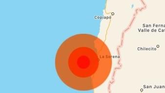 Un sismo de magnitud 6,5 sacude el Norte de Chile.