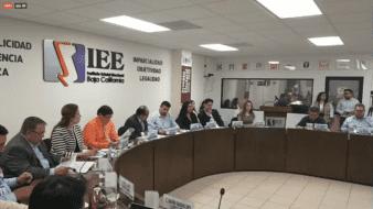 Entrega de constancia de mayoría a la alcaldesa electa de Tecate