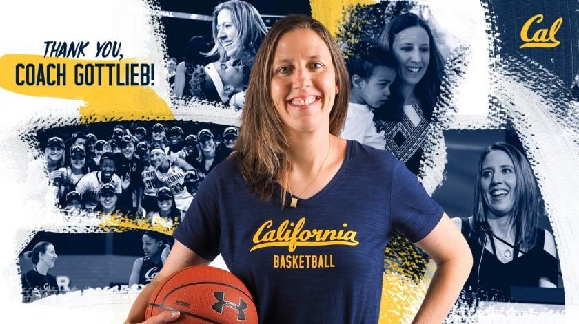 Lindsay Gottlieb hace historia NBA como entrenadora de Cavs(Twitter/ @CalWBBall)