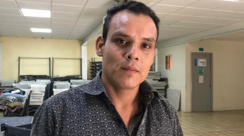 Julio Castellanos, originario de Honduras,(KHENNIA REYES)