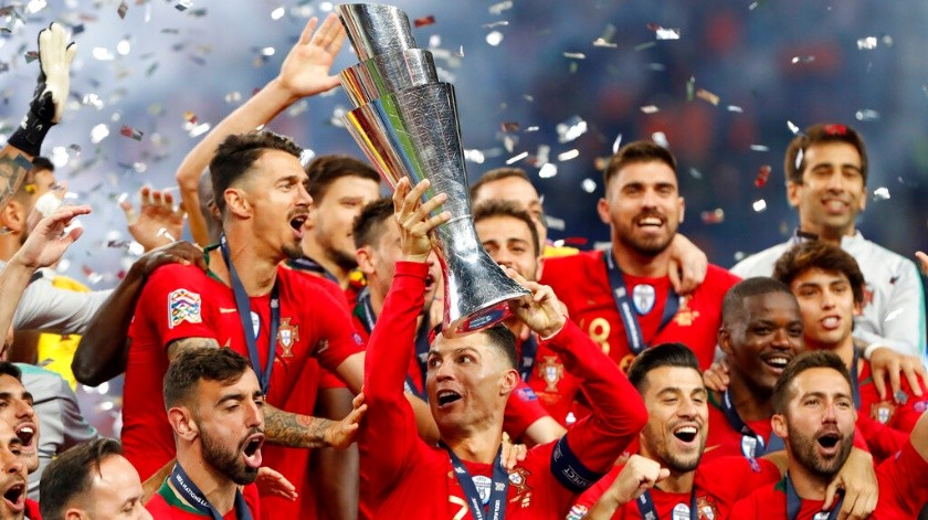 Sube Portugal al quinto puesto del ranking FIFA.(AP)