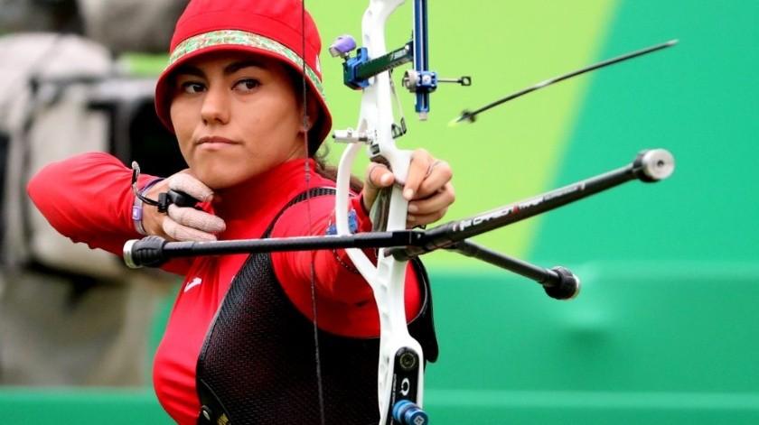 Gana Alejandra Valencia plaza olímpica para México.(Twitter)