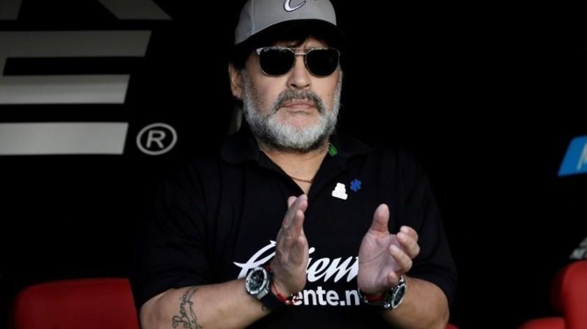 Maradona se despide de su afición sinaloense a través de Instagram.(Twitter)