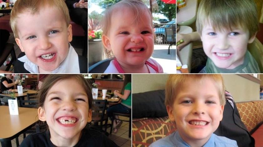 El 28 de agosto del 2014,Jones asesinó primero a Nahtahn, de 6 años, porque había rotó un enchufe, después mató a Merah, de 8 años; Elías, de 7; Gabriel, de 2 y Abigail, de 1 año.(Especial)