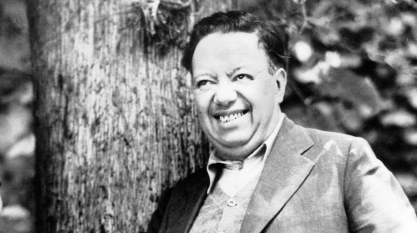 El gran muralista mexicano Diego Rivera.(Tomada de la red)