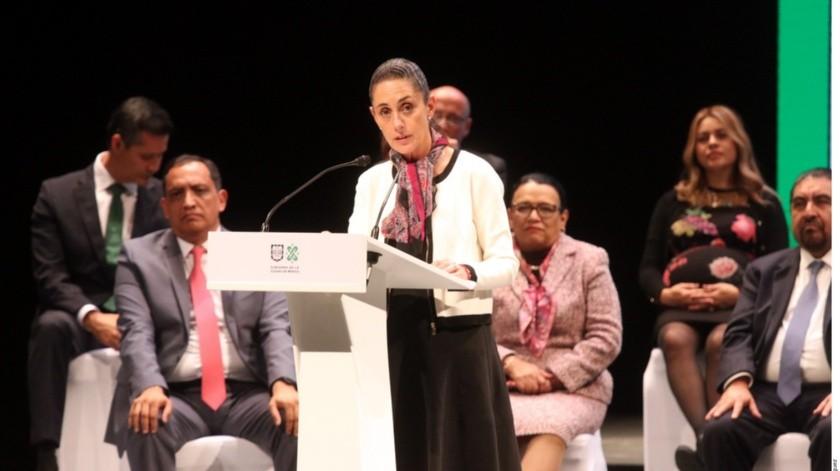 Claudia Sheinbaum sostuvo que la delincuencia no vencerá a su gobierno.(El Imparcial)
