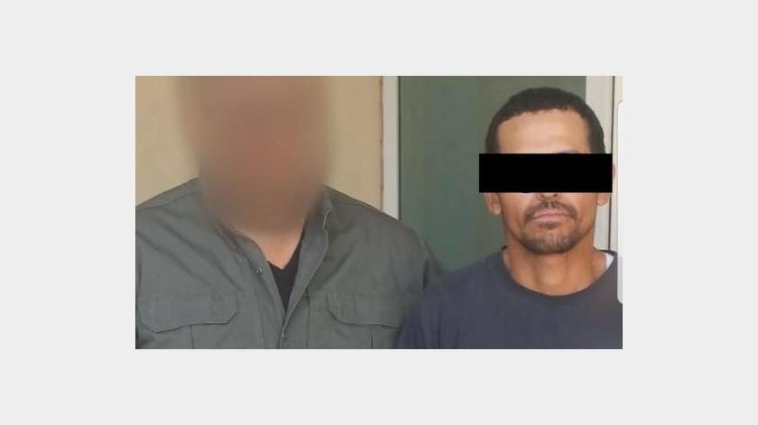 """Luis Ernesto """"N"""" está bajo proceso por el robo de una refrigeración a un domicilio.(Cortesía)"""