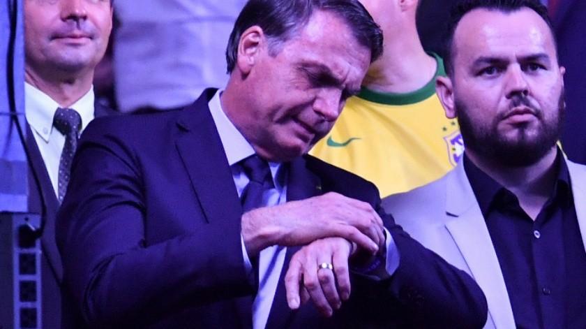 Protestan contra Jair Bolsonaro en plena Copa América(AFP)