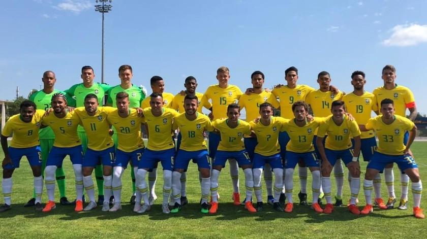 Brasil es el campeón del torneo Esperanzas de Toulon.(Twitter)