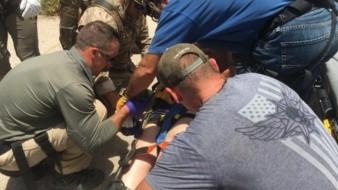 La Patrulla Fronteriza alerta a los migrantes de no intentar cruzar por el desierto de Arizona ante las altas temperaturas.