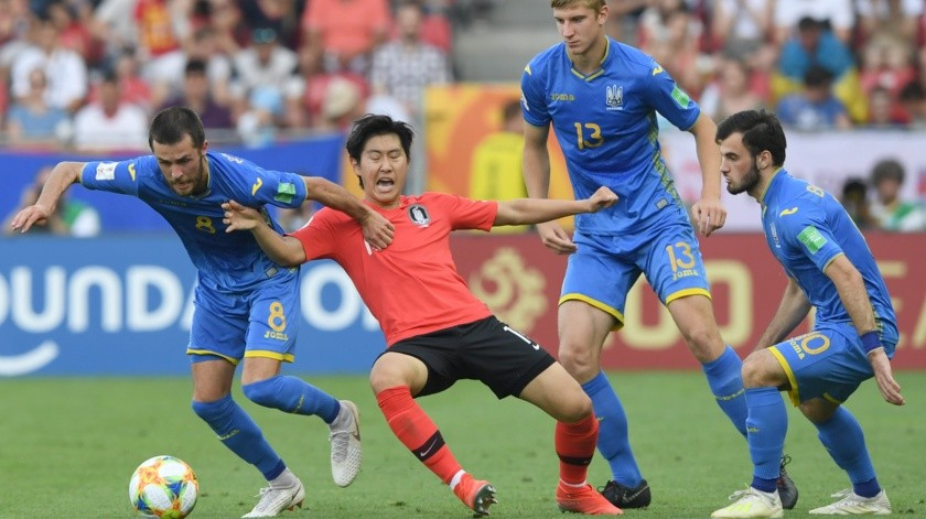 Ucrania se corona campeona mundial Sub 20; vence a Corea(AFP)