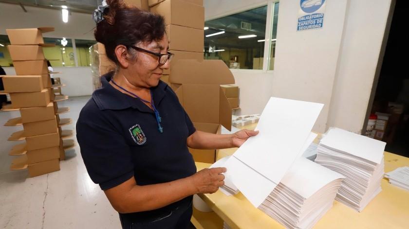 Yucatán, Chiapas, Sonora y Guanajuato son los estados que más libros en braille piden para sus estudiantes.(El Universal)