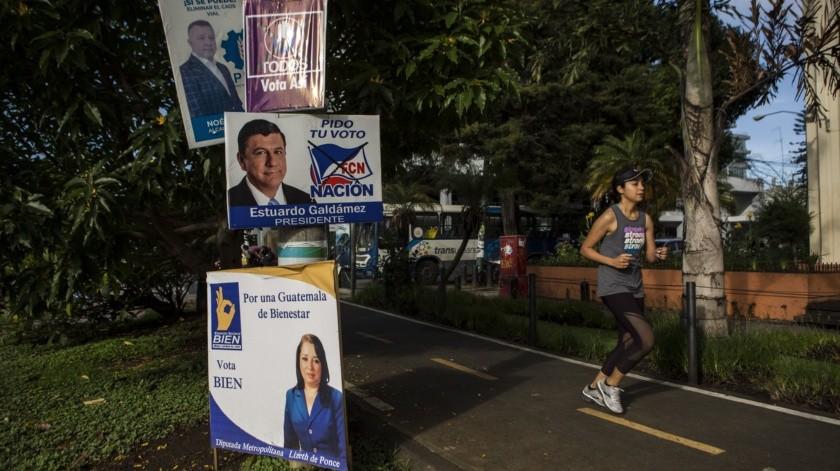 Un vistazo general a Guatemala, donde el domingo se realizarán elecciones generales.(AP)