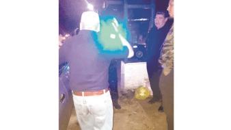 """Francisco """"N"""", fue el primer ciudadano en el municipio de Toluca multado y remitido ante la Oficialía Calificadora por tirar basura."""