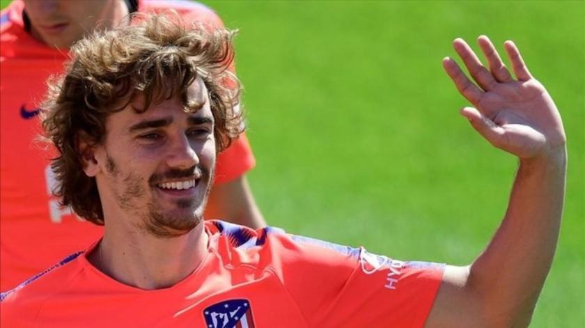Desde la salida del francés del Atlético de Madrid se ha rumorado su llegada al equipo culé.(Twitter)