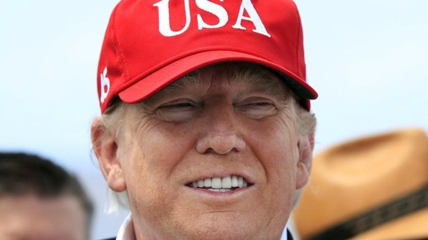 Los buenos cómputos iniciales de Donald Trump en las elecciones del 2016 en la Florida fueron un tempranero indicio de una posible victoria fuera de todo pronóstico.(AP)