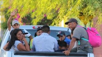 26 migrantes y 10 niños fueron asegurados en Chiapas