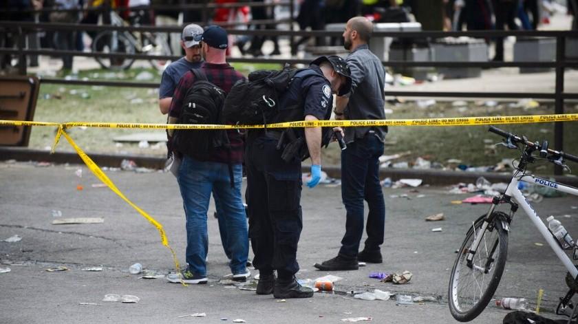 Autoridades canadienses investigan tiroteo en desfile de Raptors.(AP)