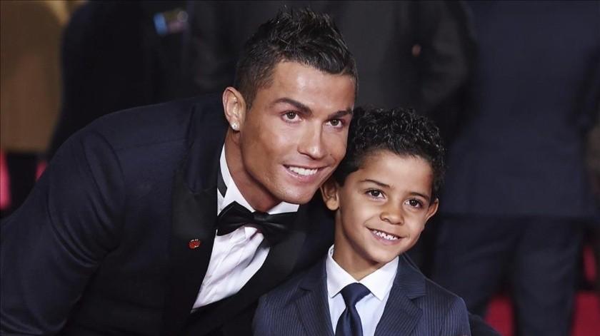 Cristiano Ronaldo celebró el cumpleaños de su primógenito en Grecia.