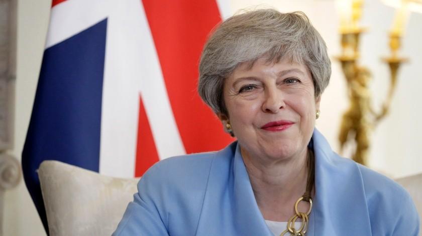 Theresa May(AFP, POOL)