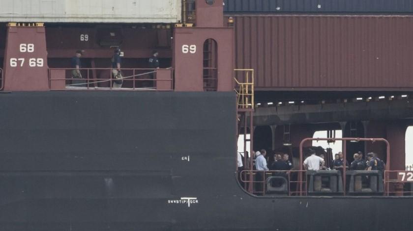 Las autoridades dicen que han incautado más de 16 toneladas de cocaína en un puerto de Filadelfia en uno de los aseguramientos más grandes en la historia de Estados Unidos.(AP)