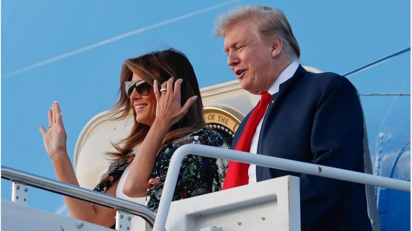 Los demócratas pronostican que Trump no conseguirá mantener la imagen de marginal.(AP)