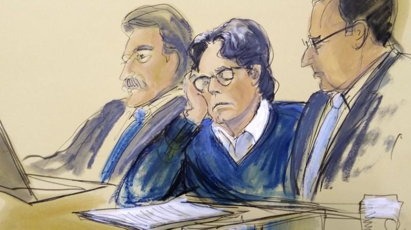 Keith Raniere fue declarado culpable de todos los cargos criminales en su contra.(AP)