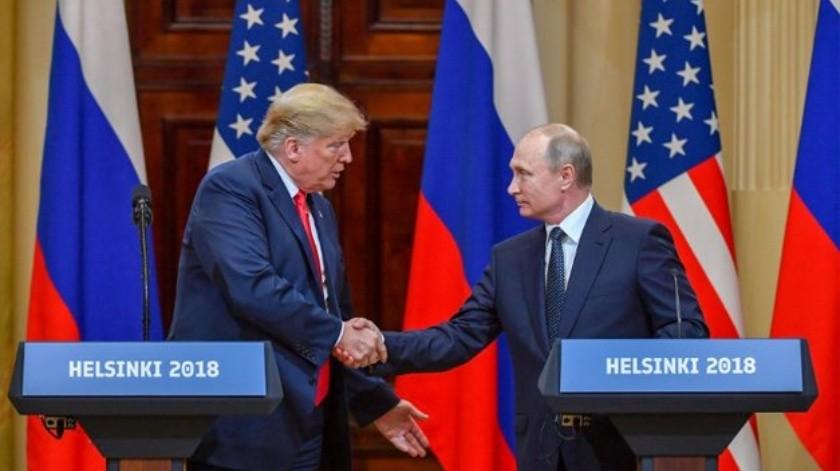 Trump confirma reunión con Putín previo a cumbre G20(Twitter @ElMundoSV)