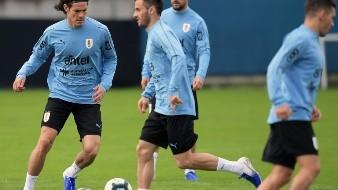 Edinson Cavani y Luis Suárez volverán a sacar toda la artillería este jueves en Porto Alegre.