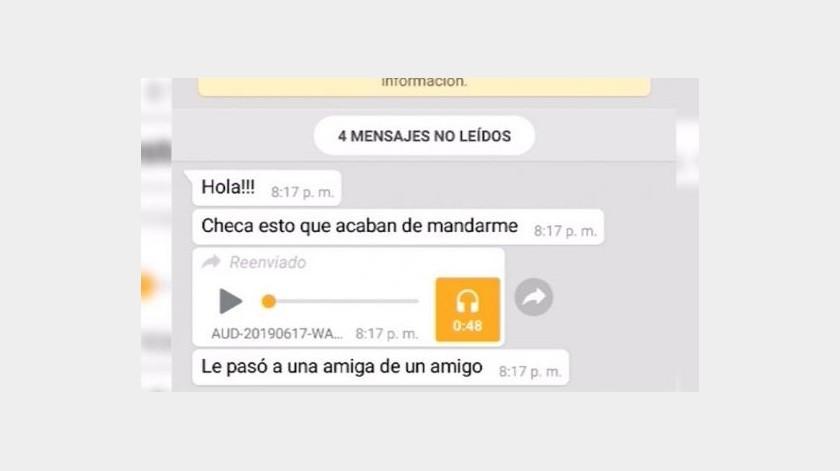 El nuevo audio peligroso que ronda en WhatsApp