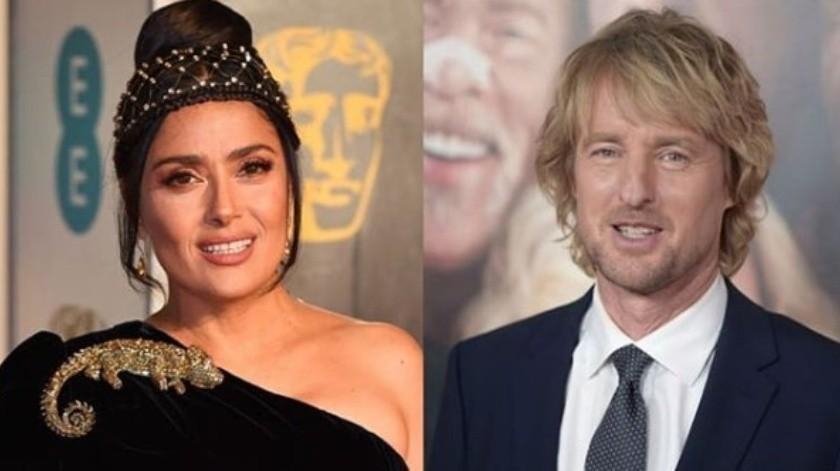 La actriz de origen mexicano trabajará con el actor Owen Wilson en una cinta de Amazon.(Instagram)