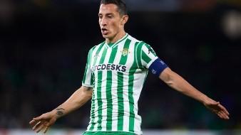 Andrés Guardado en negociación para renovar contrato con el Betis