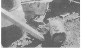 La cantidad de personas afectadas por el cobalto-60 (cilindro en la foto) se desconoce, ya que la información no fue divulgada y se mantuvo en secreto.