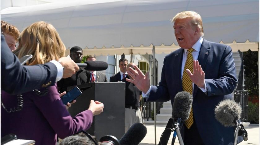 El presidente dijo que canceló un ataque previsto para el jueves al enterarse de que morirían 150 personas.