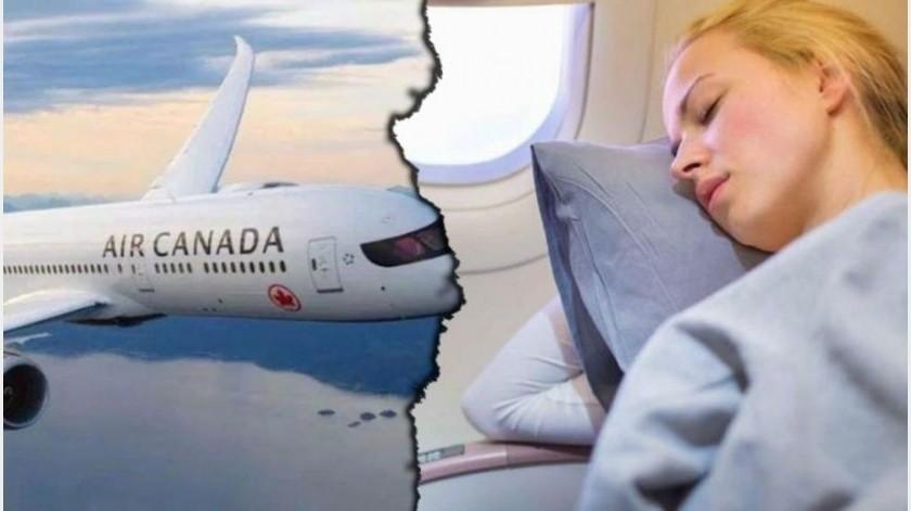 Air Canada informó el domingo que está investigando cómo fue que la tripulación de un avión desembarcó y se fue sin darse cuenta de que dejó a una pasajera dormida en la aeronave.(Tomada de la red)
