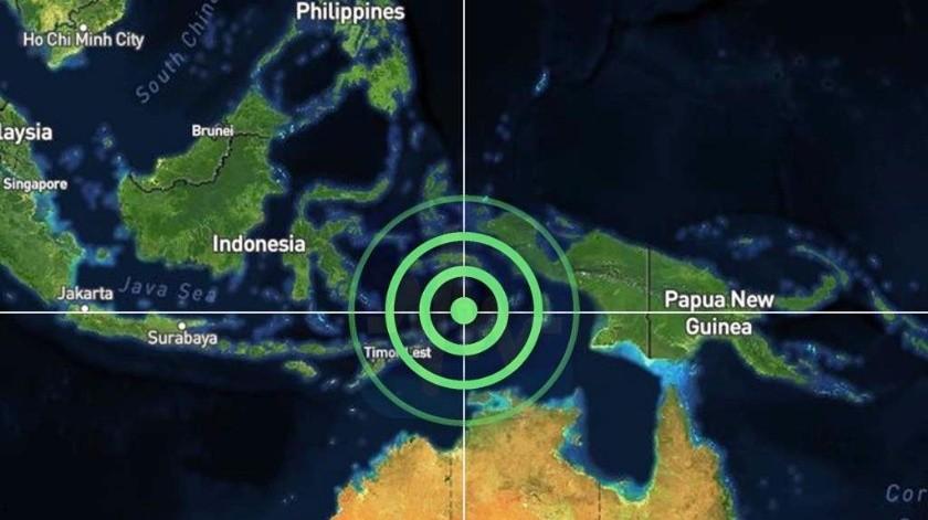 Un sismo de magnitud 7,3 sacude Indonesia.
