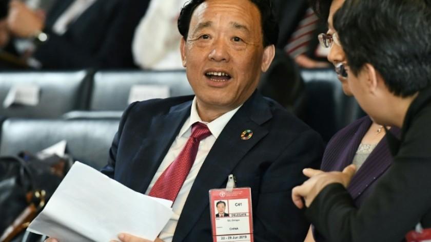 Qu Dongyyu(AFP)