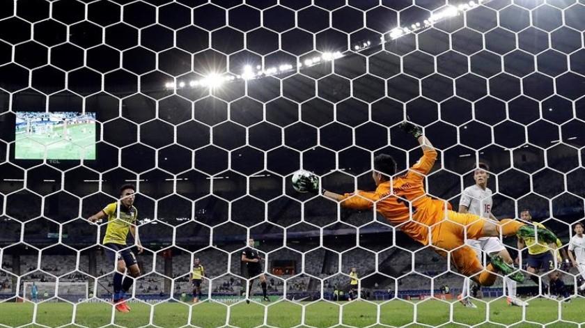 Ecuador y Japón desperdiciaron este lunes la posibilidad de clasificarse para los cuartos de final de la Copa América al igualar 1-1 en la tercera y última jornada del Grupo C.(EFE)