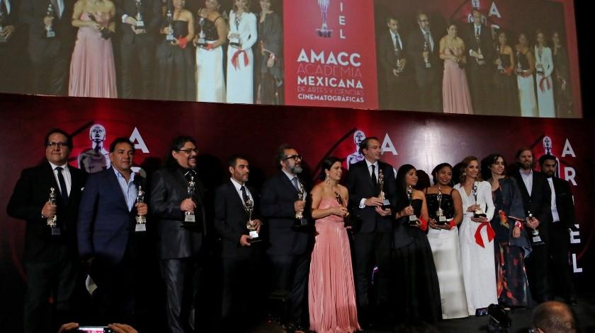 """""""Roma"""" de Alfonso Cuarón arrasó el lunes con 10 Premios Ariel, cerrando un ciclo que la llevó a recibir desde el León de Oro en el Festival de Cine de Venecia hasta el premio Oscar a la mejor cinta en lengua extranjera.(Copyright 2019 The Associated Press. All rights reserved., AP)"""