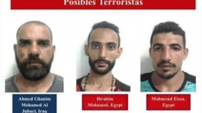 Ahamed Ghanim Mohamed Al Juburi, de Irak, y de Ibrahim Mohamed y Mohamed Eissa, de Egipto.(Especial)