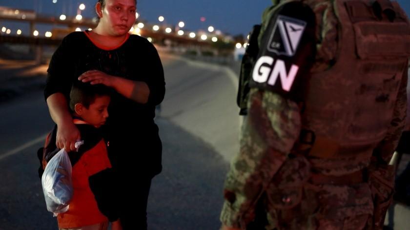 El presidente deMéxico, Andrés Manuel López Obrador, reconoció este martes que puede ser que se hayan producido excesos de las fuerzas mexicanas.(AP)