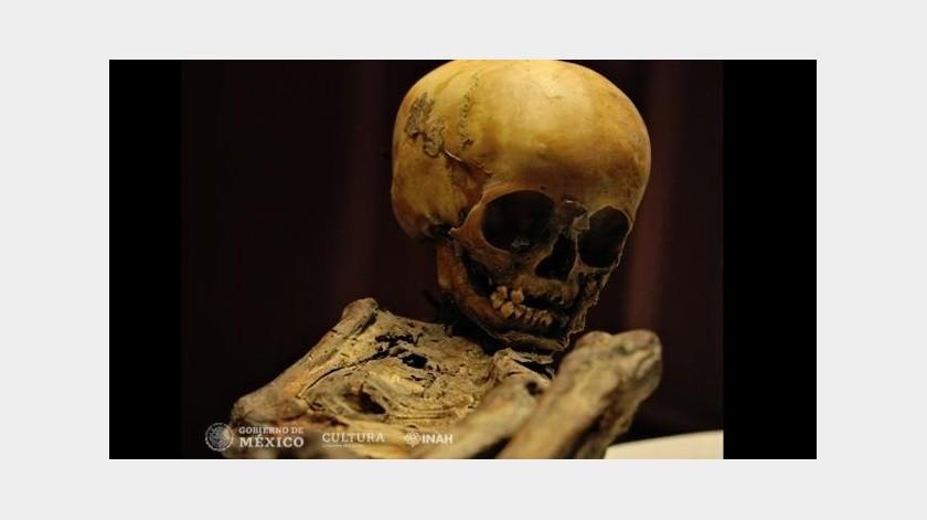 """La momia infantil """"Pepita"""" será sometida a un nuevo estudio de ADN a 17 años de su descubrimiento en Altamira, en la Sierra Gorda de Querétaro.(Tomada de la red)"""