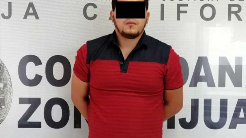 El detenido es Juan Pablo N.(Cortesía)